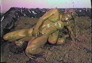 Naked Women Mud Wrestling